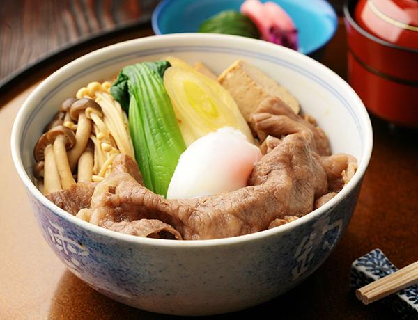 ◆明治すきやき丼