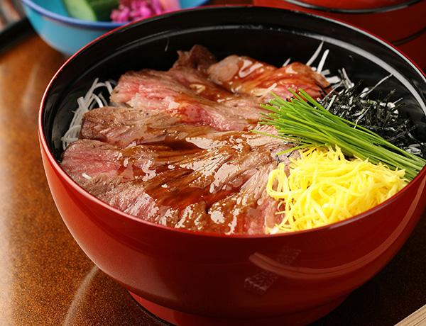 ◆ステーキ丼〈サーロイン 又は ヒレ〉