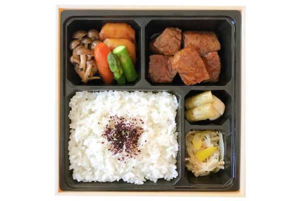 ◆黒毛和牛 ヒレ サイコロステーキ弁当